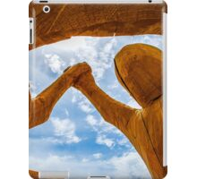 Friendship sculpture iPad Case/Skin