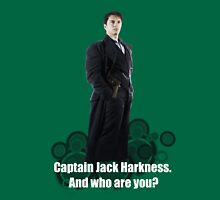 Captain Jack Harkness : Who are you ? Unisex T-Shirt