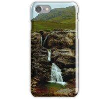 scottish waterfall iPhone Case/Skin