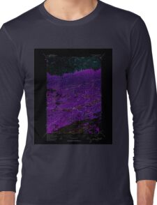 USGS TOPO Map Alaska AK Anchorage C-7 354013 1950 63360 Inverted Long Sleeve T-Shirt