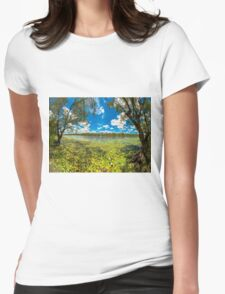 Camooweal Serenity Womens Fitted T-Shirt