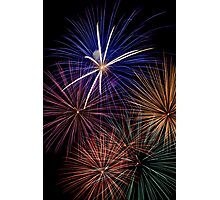 Explosive Color - Fireworks Photographic Print