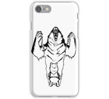 Winnie the Pooh inner Bear  iPhone Case/Skin