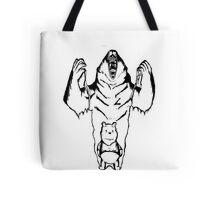 Winnie the Pooh inner Bear  Tote Bag