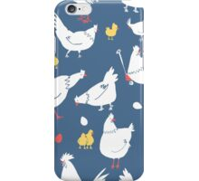 you lazy little chicken iPhone Case/Skin