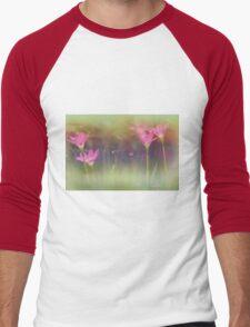 dreamy garden Men's Baseball ¾ T-Shirt