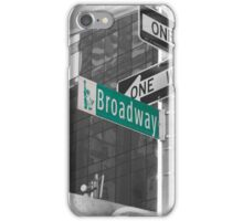 This Way To Broadway iPhone Case/Skin