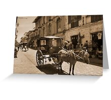 calle crisologo Greeting Card