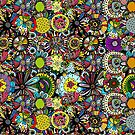 Background mandala by Kudryashka