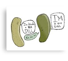 Pickles Metal Print