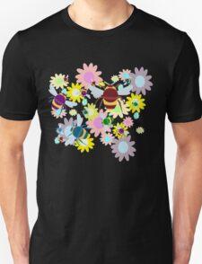 Bees & Flowers Unisex T-Shirt