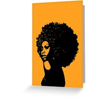 Soulfro Greeting Card