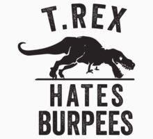 T Rex Hates Burpees | Racerback Tank