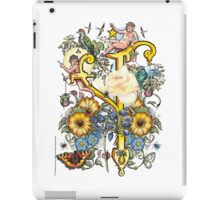 "The Illustrated Alphabet Capital  Y  ""Getting personal"" iPad Case/Skin"