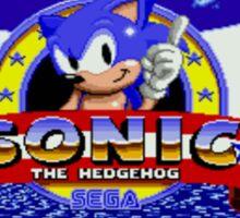Sonic Retro Sticker