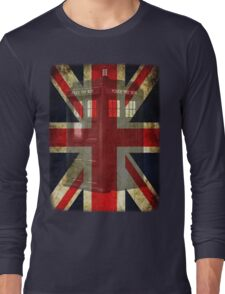 Union Tardis Long Sleeve T-Shirt
