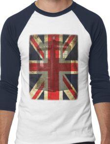 Union Tardis Men's Baseball ¾ T-Shirt