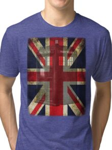Union Tardis Tri-blend T-Shirt