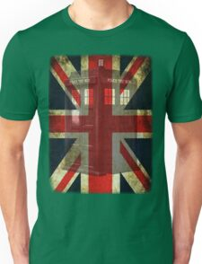 Union Tardis Unisex T-Shirt
