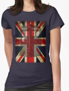 Union Tardis Womens Fitted T-Shirt