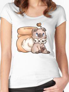 Rockruff Doughnuts Women's Fitted Scoop T-Shirt