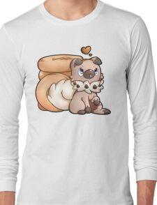 Rockruff Doughnuts Long Sleeve T-Shirt