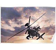 Apache AH MK1 at duxford 2016 Poster