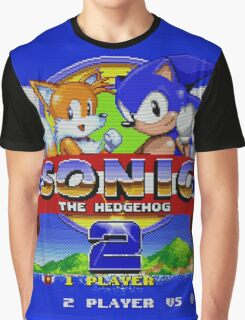 Sonic The Hedgehog 2 Graphic T-Shirt