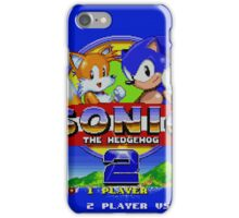 Sonic The Hedgehog 2 iPhone Case/Skin