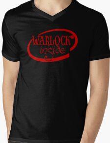 Warlock Inside Mens V-Neck T-Shirt