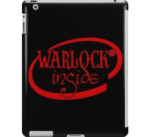 Warlock Inside iPad Case/Skin