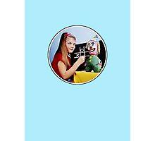 TV Testcard Photographic Print