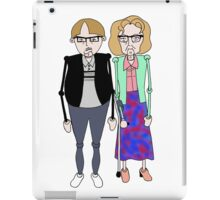 Maureen and David Sourbutts Psychoville inspired design iPad Case/Skin