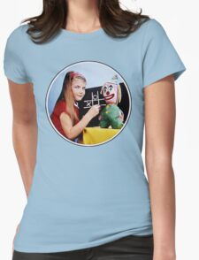 TV Testcard Womens Fitted T-Shirt