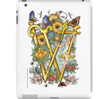 "The Illustrated Alphabet Capital  W  ""Getting personal"" iPad Case/Skin"