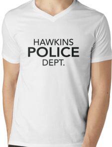 Hawkins Police Dept. Mens V-Neck T-Shirt