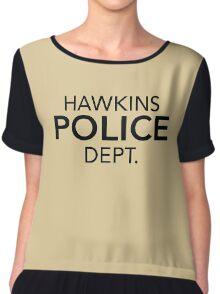 Hawkins Police Dept. Chiffon Top