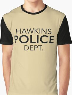 Hawkins Police Dept. Graphic T-Shirt