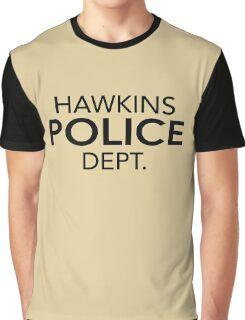 Hawkins Police Dept. Graphic T-Shirt