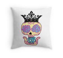 5SOS Skull Throw Pillow