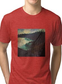 Forest Staircase Tri-blend T-Shirt