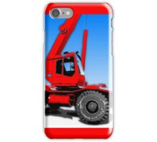 Red Crane iPhone Case/Skin