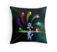 Super Sonic Space Throw Pillow