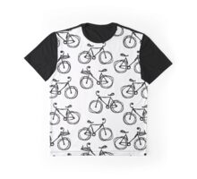 Bicycle sketch, seamless pattern Graphic T-Shirt