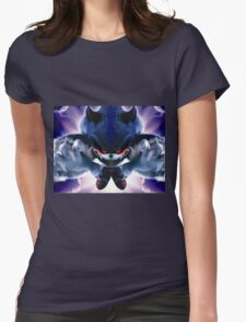 Sonic Beast Womens Fitted T-Shirt