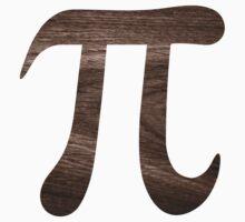Wood pi symbol sticker by Mhea