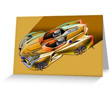 Cadillac Supercar Concept Greeting Card