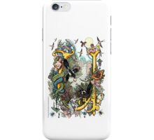 "The Illustrated Alphabet Capital  U  ""Getting personal"" iPhone Case/Skin"
