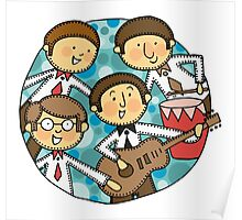 The meccano beatles Poster