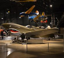 """Curtis P-40E  """"Warhawk""""   Flown By  """"Flying Tigers"""" by BearheartFoto"""